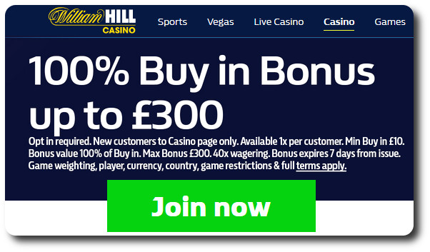 WilliamHill Casino - Join Now!